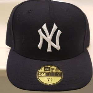 New Yankee Gray Brim Fitted